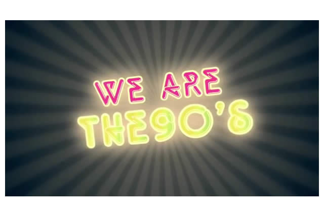 We Are The 90's sera à l'Elysée Montmartre le 24 septembre !