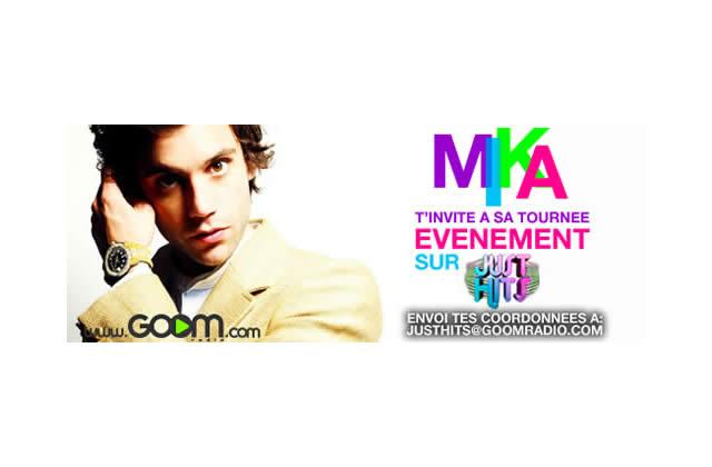Gagne ta place pour le concert de Mika !