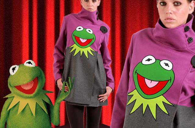Le manteau Kermit (JC de Castelbajac)