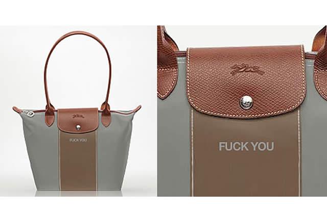 Personnalise ton sac Longchamp