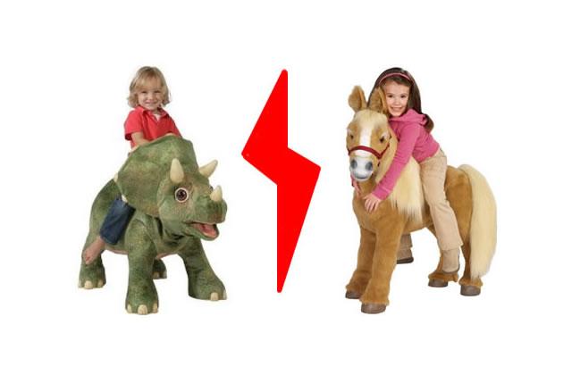 Pour ou contre les jouets «réalistes» ?