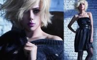 Scarlett Johansson pour la campagne automne hiver de Mango