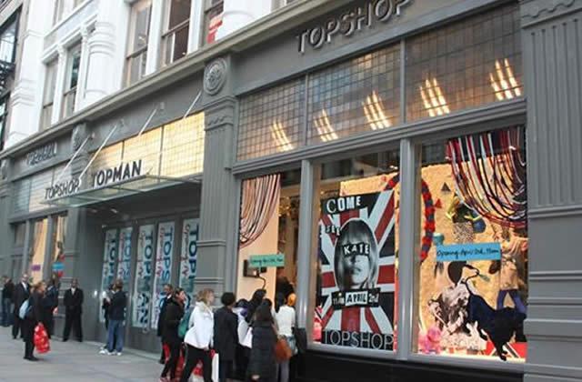 Topshop va ouvrir bientôt un magasin à Paris!!!!