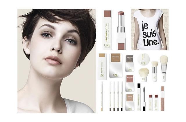 Zoom sur UNE, marque de maquillage naturel