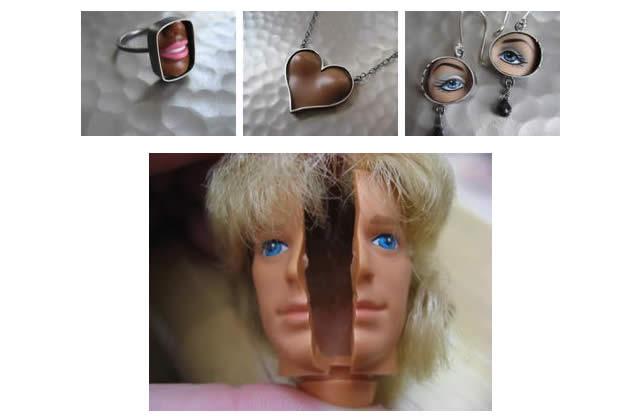 Les bijoux Barbie se pendent à ton cou avec Margaux Lange