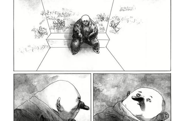 Blast T1 Grasse Carcasse, de Manu Larcenet