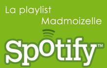 La Playlist madmoiZelle/Spotify de novembre 2009