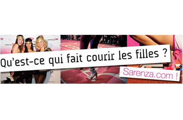 Parie sur la course en escarpins Sarenza et gagne 6 000€ de chaussures !