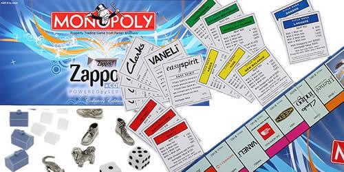 Zappos crée le Monopoly de la chaussure 20091230 monopoly