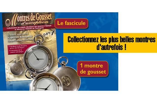 Bon Plan Mode : 4,50€ la montre à gousset