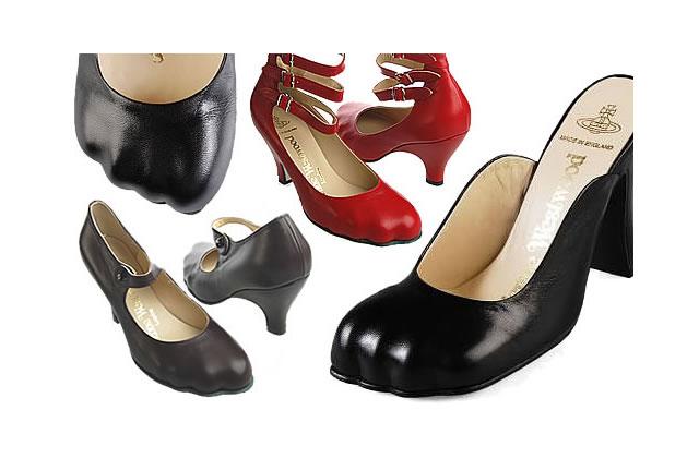 Chaussures Vivienne Westwood : moulées sur le pied !