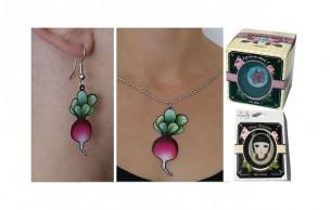 L'idée cadeau cool du 12 Décembre 2009 : des bijoux légumes !