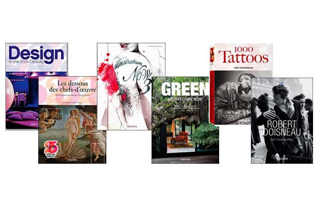 L'idée cadeau cool du 15 Décembre 2009 : des livres Taschen
