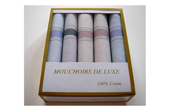 L'idée cadeau pourrave du 09 Décembre 2009 : des mouchoirs de luxe