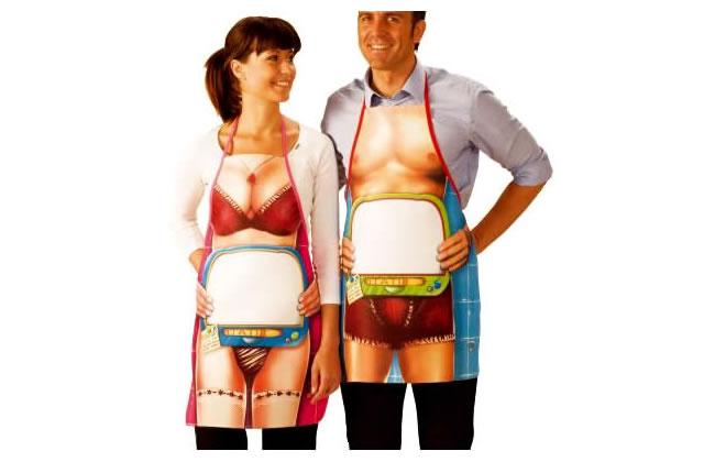 L'idée cadeau pourrave du 10 Décembre 2009 : le tablier sous-vêtements