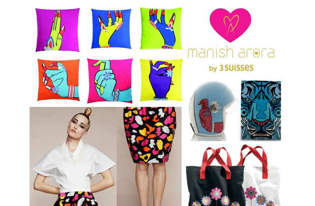 Manish Arora by 3 Suisses