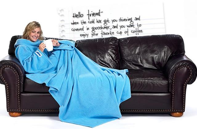 Plan anti-froid: Slanket, à la fois robe et couette