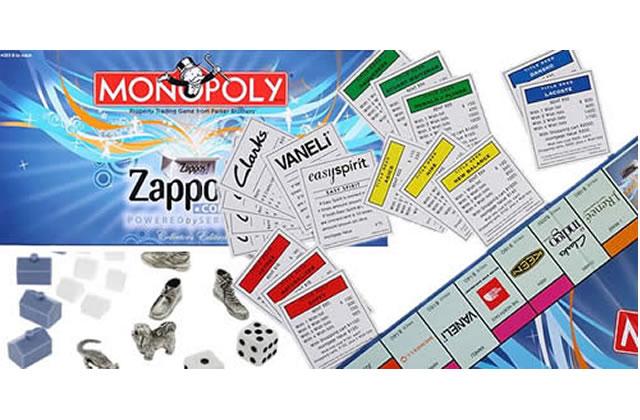 Zappos crée le Monopoly de la chaussure