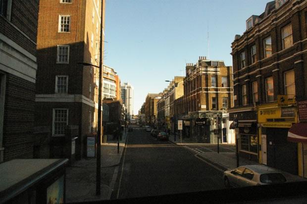 A Londres, il peut faire beau.