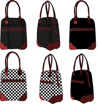 Croquis de sacs fonctionnels