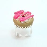 Bijoux MIAM : rencontre avec sa créatrice bague donuts 031