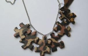 Lien permanent vers Tuto Bijou : des bijoux en puzzle recyclé (et léopard)