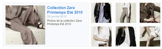 zara trafaluc collection printemps ete 2010 1 Zara Printemps été 2010