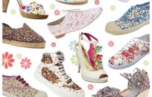 Lien permanent vers Chaussures fleurs en liberty : ça bourgeonne !