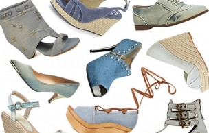 Lien permanent vers Des chaussures en jean