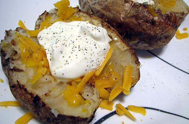 Baked Potatoes, la recette des pubs anglais