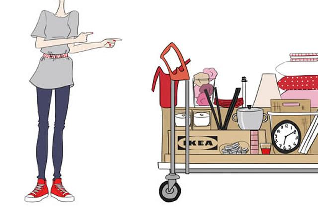 La Folie Ikéa – Le dessin de Clio