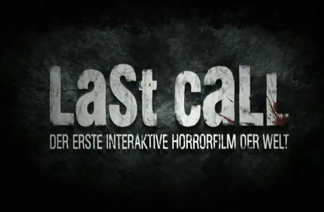 «Last Call», le premier film d'horreur interactif