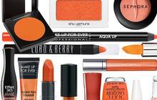 Maquillage Orange, tendance printemps-été 2010