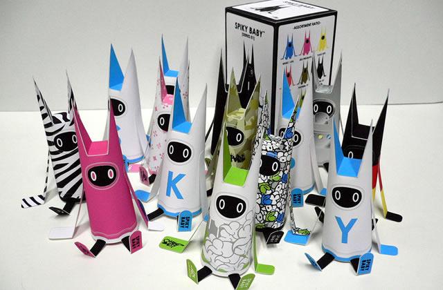 Les Paper Toys : confectionne des figurines en papier