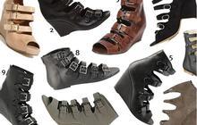 Sandales multiboucles : complètement sanglées