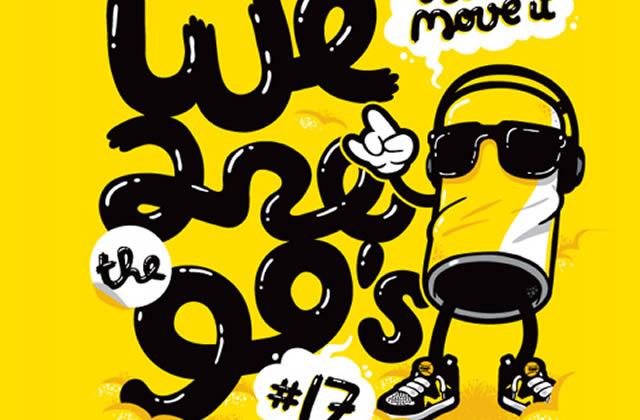 We are the 90's #17 le 19 Mars à l'Elysée Montmartre