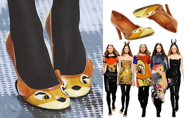 bambi shoes chaussures castelbajac Les chaussures Bambi de Castelbajac