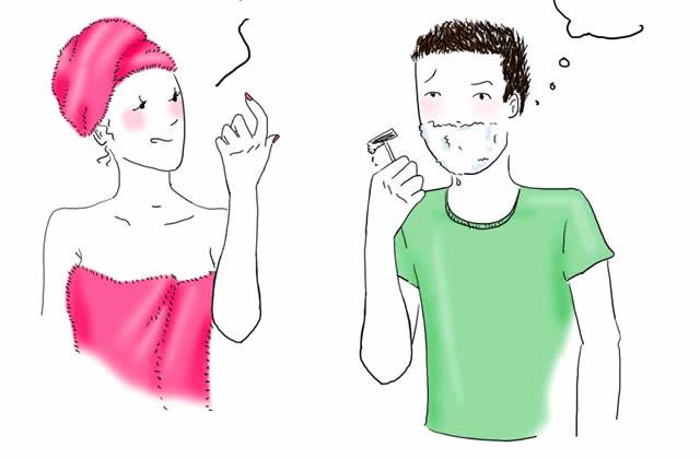 Chéri, j'ai grossi ? – Le dessin de Maud