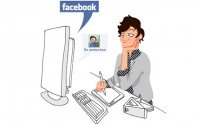 La jalousie made in Facebook -Le dessin de Caroline