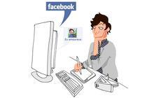 La jalousie made in Facebook -Le dessin de Caroline
