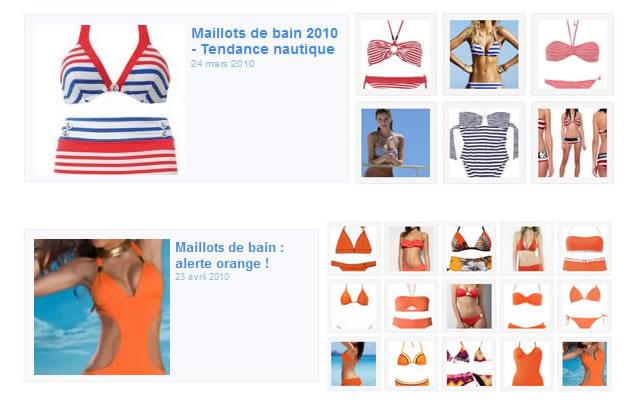 Maillots de bain 2010