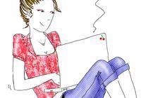 Accro du PC – Le dessin de Maud