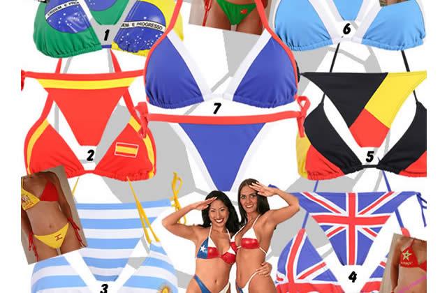 Pour ou contre le bikini patriote