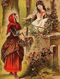 conte de fée petit chaperon rouge