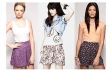 Floral shorts : les jupe-culottes fleurissent