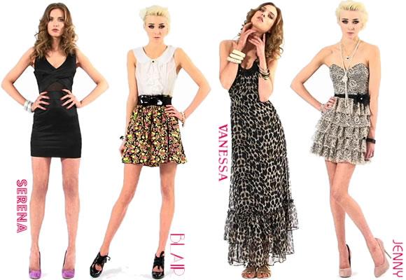 Toutes les robes de gossip girl