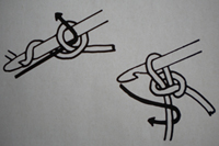 tutoriel comment faire un noeud au crochet le blog de miss kawaii. Black Bedroom Furniture Sets. Home Design Ideas