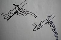 Tuto crochet : un noeud pour cheveux maille 2