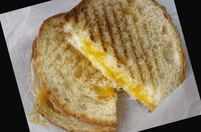 Recette – Grilled Cheese Sandwiches