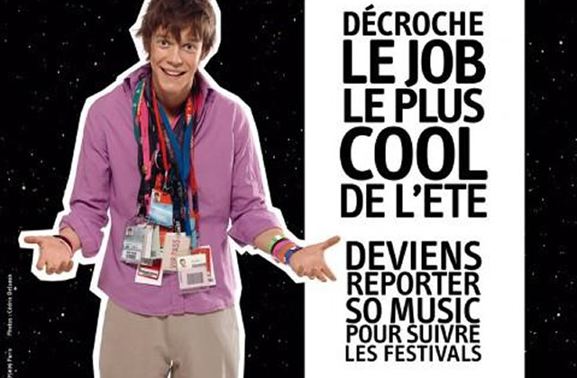 Le job le plus cool de l'été : reporter So Music